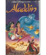 Aladdin VHS Disney Animated Robin Williams - $1.99