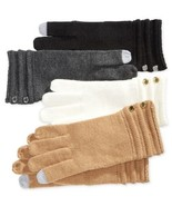 Michael Kors Ottoman Stitch Long Gloves (Black, One Size) - $47.42