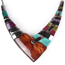 Fashion Jewelry Sets Gunmetal Plated Multicolor bown - $21.99