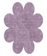 PurpleFlower003--Digital Download-ClipArt-Art Cli - $4.00