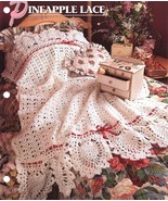 Pineapple Lace Afghan Crochet Pattern Annie's - $12.99