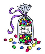 Jelly Beans--Digital Download-ClipArt-Art Clip - $4.00