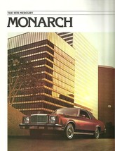 1978 Mercury MONARCH sales brochure catalog US 78 Ghia - $6.00