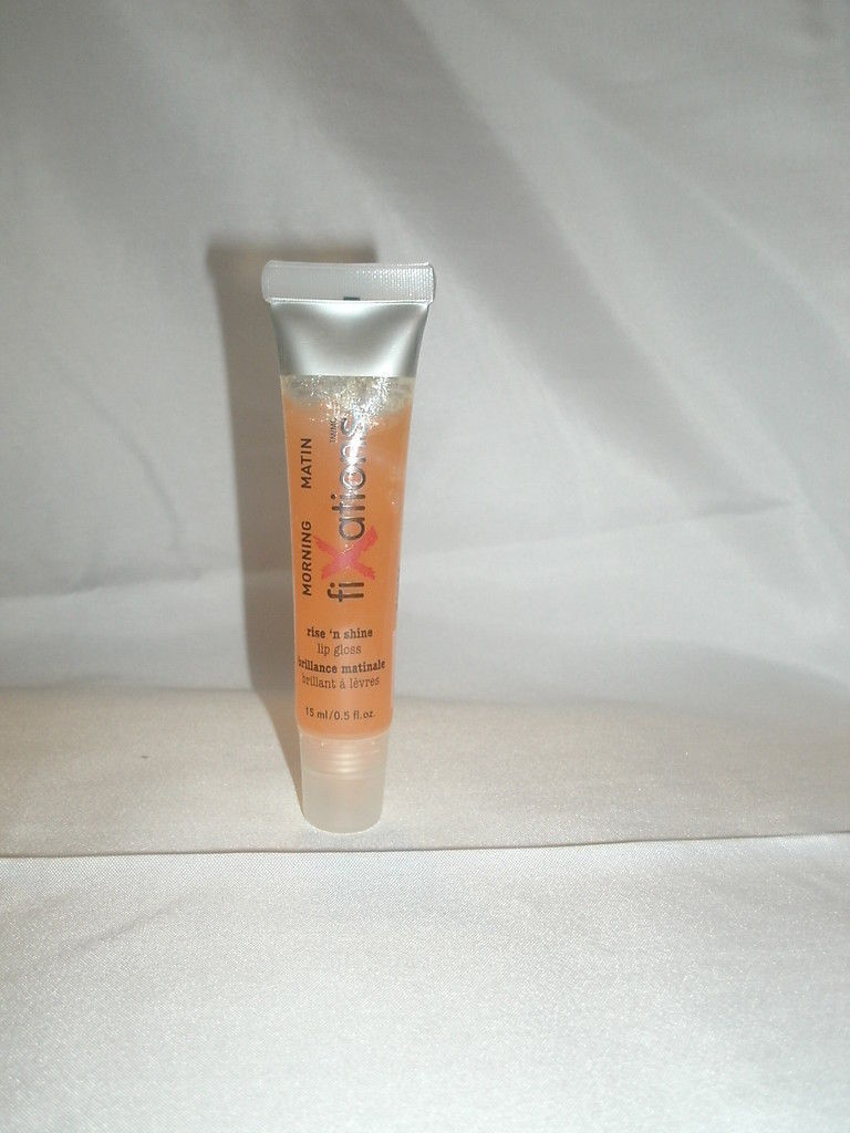 Fixations Morning Matin RISE 'N SHINE Lip Gloss .5 oz/15mL New