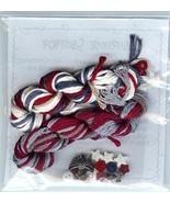 EMBELLISHMENT PACK Patriotic Sampler cross stit... - $77.40