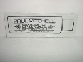 Paul Mitchell AWAPUHI Shampoo Sample Women .25 oz New - $6.93