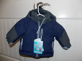 The Children's Place ThermoLite Plus All Weather Jacket BLUE/GRAY Choose... - $34.64