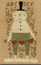 Stu Snowman cross stitch chart Teresa Kogut - $9.00