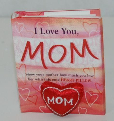 Blue Mountain Arts GKB402 I Love You Mom Book With MOM Pillow Small