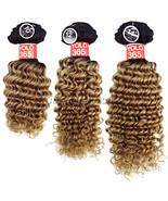 Yolo 365 100% Human Hair Virgin Weaving Extension Bundle 3PCS - Pineappl... - $49.45+