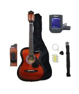 Crescent Acoustic Electric Guitar Starter Package - Includes CrescentTM ... - $65.44
