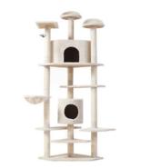 "NEW Cat Tree 80"" Condo Furniture Scratching Post Pet Cat Kitten House Hi... - $134.99"