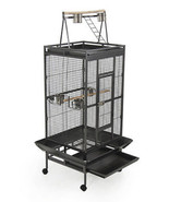 NEW Bird Cage Large Play Top Bird Parrot Finch Cage Macaw Cockatoo - $189.99