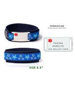 "TAKING XARELTO Sport Medical Alert ID Bracelet  6.5"".Free medical Emerge... - $26.99"