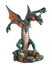Medieval Legends 29565 Double Headed Dragon Sculpture - $37.99