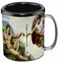 Creation of Guitar Mug NEW - $8.95