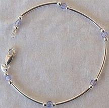 Light purple silver bracelet ab 3 thumb200