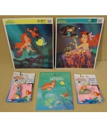 Golden Tyco Disney Little Mermaid Puzzles Book ... - $34.93