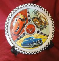 Disney Pixar Cars Dinner Plate Lightning McQueen Doc Hudson Tow Mater  - $3.99