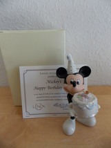 Disney/Lenox Mickey's Happy Birthday To You November Figurine  - $35.00