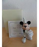Disney/Lenox Mickey's Happy Birthday To You November Figurine  - $35.00