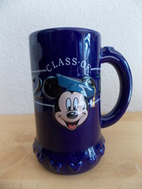 Disney Mickey Mouse Class of 2001 Glass Stein  - $30.00