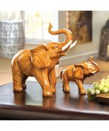 LARGE & SMALL ELEPHANT FIGURINES, STATUES - $58.00