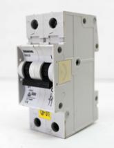 Siemens 5SX22 D1 Disyuntor 2 Polo, 1A, 400V - $9.91