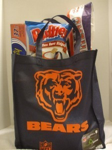 2 NFL Chicago Bears Recycle/Reusable Grocery/Tote Bag NWT