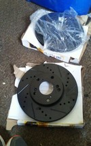 Max Brakes 31257W right and left rotors image 1