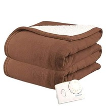 Heated Blanket. Best Heat Up Soft Micro Plush Portable Washable Winter S... - €88,72 EUR