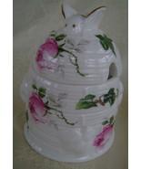 Jubilee Rose Pattern, Bone China, Honey Pot - $23.00