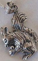 Squirrel silver pendant - $23.00