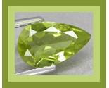 Peridot pear long 7.4x4.6 0.93ct thumb155 crop