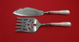 Chinon by Christofle Silverplate Fish Serving Set 2-piece HH WS Custom Made - $199.00