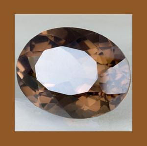 Primary image for 12.00ct Natural SMOKY QUARTZ Oval Cut Faceted Loose Gemstone