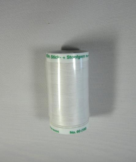 Mettler Metrosene Fine Embroidery Thread 875 yards White