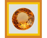Sapphire round orange 4.8mm 0.50ct thumb155 crop