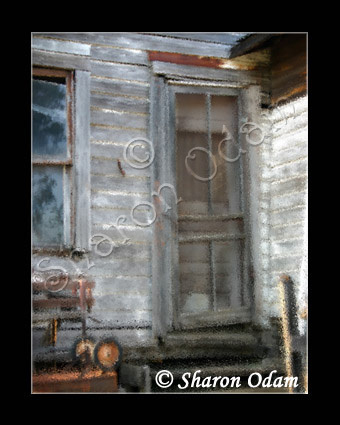 The Old Back Door - Fine Art Print - BH0029-1C