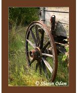 Wagon Wheel ~ MS0064C ~ Fine Art Photography - $17.50