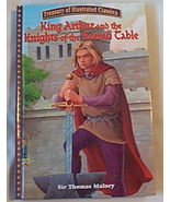 Children Book King Arthur and the Knights of the Round Table - $4.95