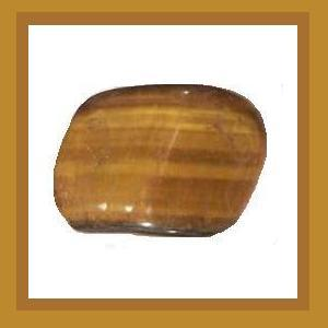Tumbled & Polished TIGER'S EYE Quartz Loose Gemstone