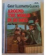 Children Book Around The World In 80 Days by Jules Verne - $4.95