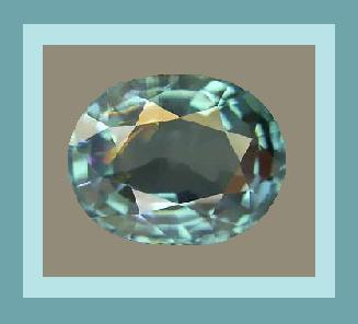 Tourmaline paraiba blue oval 4.35x3.58 0.25ct
