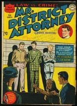 MR. DISTRICT ATTORNEY #4-DC-GOLDEN AGE CRIME VG - $119.80