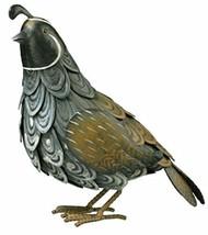 CHSGJY Special Quail Bird Metal Home Garden Yard Art Decor Statue Southw... - $62.32