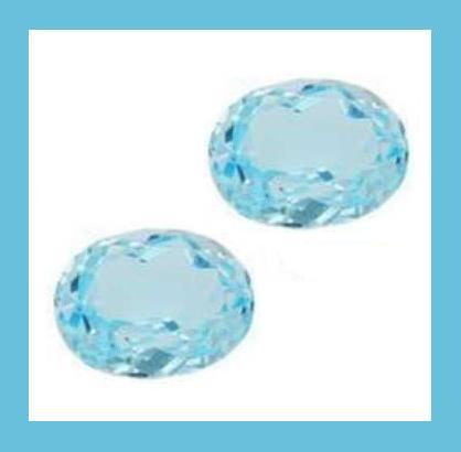 Blue topaz oval 14.82ctw 2of2