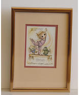 Signed, Ltd Watercolor by  Jody Bergsma FRAMED - $35.00