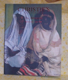 Auction Catalog, The Africanists 1998 Christies