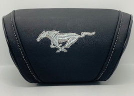 Ford Mustang Car Cushion Travel Pillow Logo Embroidery Headrest Neck Sup... - $35.00